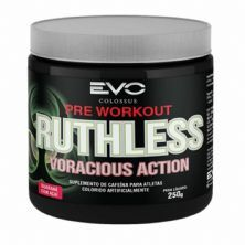 Ruthless Voracious Action - 250g Guaraná com Açai - Evo Colossus