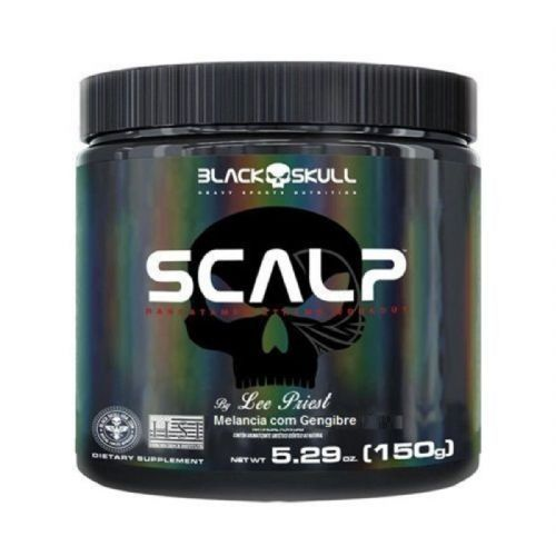 Scalp - 150g Melancia com Gengibre - Black Skull no Atacado