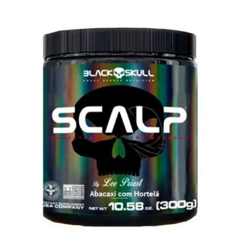 Scalp - 300g Abacaxi com Hortelã - Black Skull no Atacado