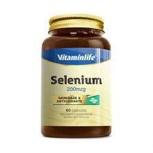 Selenium - 60 Cápsulas - Vitaminlife
