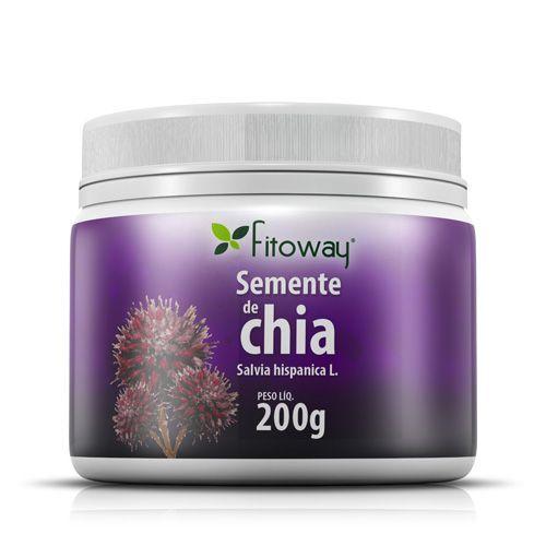 Semente De Chia Fitoway - 200G - Fitoway