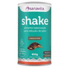 Shake - 450g Cappuccino - Sanavita