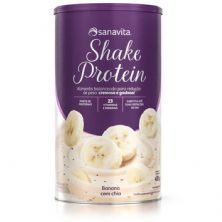 Shake Protein - 450g Banana com Chia - Sanavita