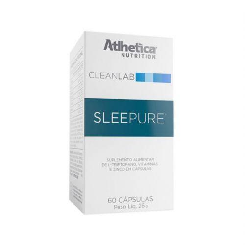 Sleepure - 60 Cápsulas - Atlhetica nutrition no Atacado