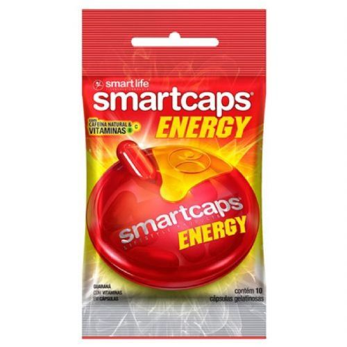 Smartcaps Energy - 10 Cápsulas - Smart Life no Atacado