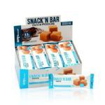 Snack´n Bar Protein - 24 Unidades Doce de Leite c/ cobertura de chocolate - BRN Foods