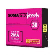 Somapro Woman com ZMA - 30 Comprimidos - Iridium
