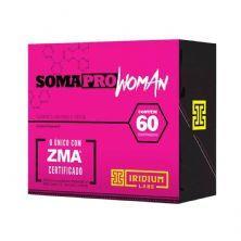Somapro Woman com ZMA - 60 Comprimidos - Iridium*** Data Venc. 30/03/2020