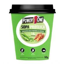 Sopa Proteica - 60g Batata Doce e Proteína da Ervilha - Power One