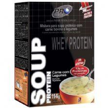 Soup Protein - Carne com Legumes c/3 Saches 38g - Probiótica