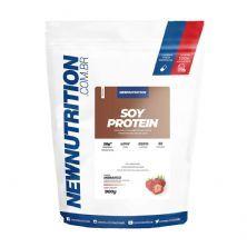 Soy Protein - 900g Morango - NewNutrition