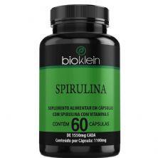 Spirulina - 60 Cápsulas - Bioklein