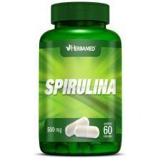 Spirulina - 60 Cápsulas - Herbamed