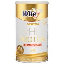 Sporting Whey Protein Concentrate - 360g Banana e Canela - Clean Whey*** Data Venc. 13/03/2020