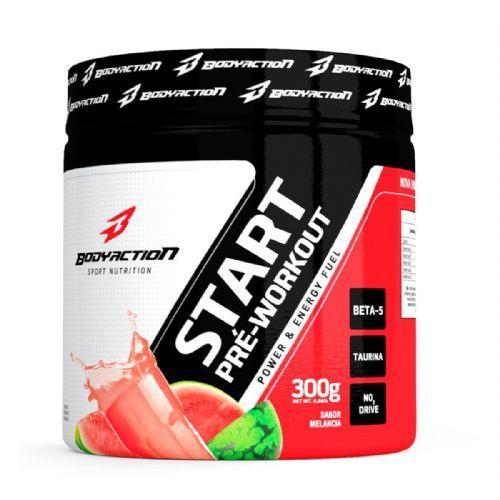 Start Pré Workout - 300g Melancia - BodyAction no Atacado