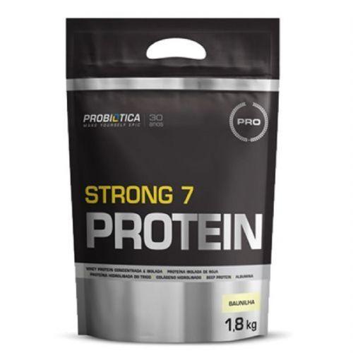 Strong 7 Protein - 1800g Baunilha - Probiótica no Atacado
