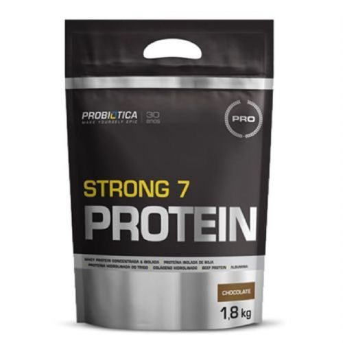 Strong 7 Protein - 1800g Chocolate - Probiótica no Atacado