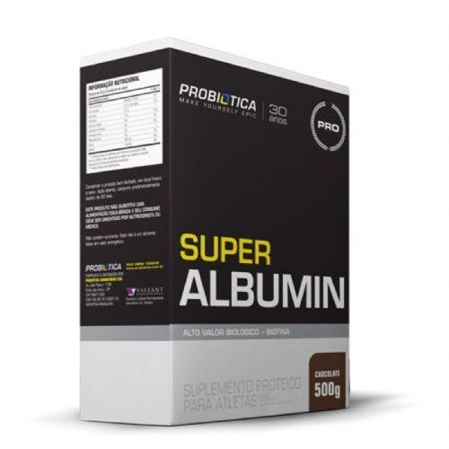 Super Albumin - 500g Chocolate - Probiótica no Atacado