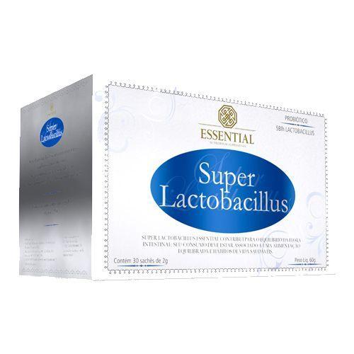 Super Lactobacillus - 30 sachês 2g - Essential Nutrition