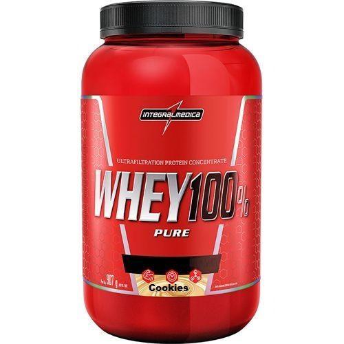 Whey 100% Pure - 907g Cookies & Cream - IntegralMédica no Atacado