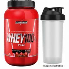 Super Whey 100% Pure - Chocolate 907g + Coqueteleira - Integralmédica