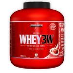Super Whey 3W - 1800g Morango - IntegralMédica no Atacado
