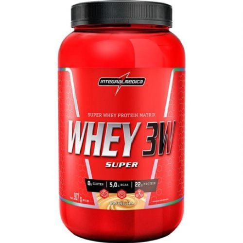 Super Whey 3W - 907g Baunilha - IntegralMédica no Atacado