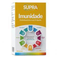Supra Imunidade Polivitamínico Com Própolis -  60 Cápsulas - Herbamed