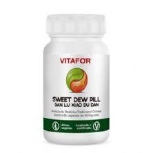 Sweet Dew Pill (Gan Lu Xiao Du Dan) - 60 Cápsulas - Vitafor