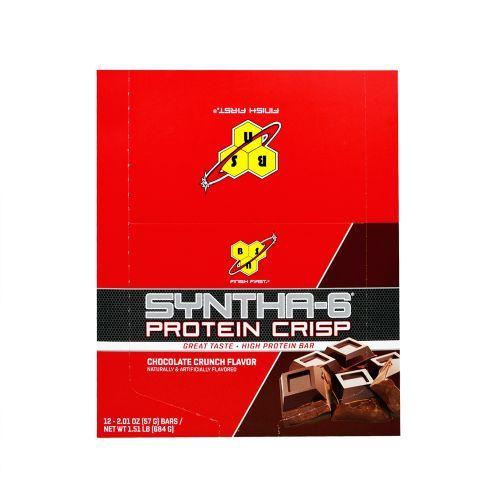 8b2c3d836 ... Syntha-6 Protein Crisp - 12 Unidades Chocolate Crunch Flavor - BSN ...