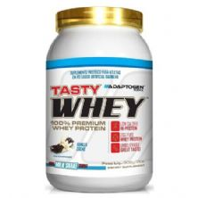 Tasty Whey Low Carb - 908g Baunilha -  Adaptogen Science