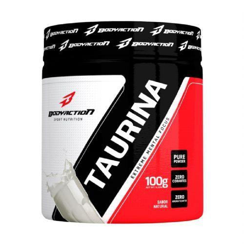 Taurina - 100g Natural - BodyAction no Atacado