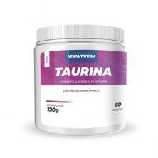 Taurina - 120g Sem Sabor - NewNutrition