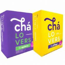 Combo - TeaQuieta - 60 Sachês + TeaFina - 60 Sachês - Chá Lovers