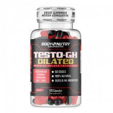 Testo-Gh Dilated - 120 Cápsulas - BodyNutry
