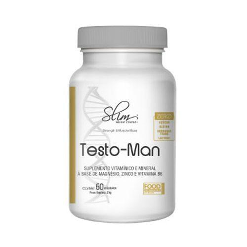Testo Man - 60 Cápsulas - Slim Weight Control