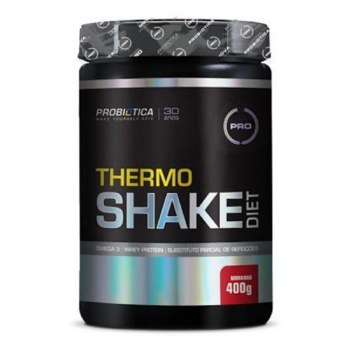 Thermo Shake Diet - 400g Morango - Probiótica no Atacado