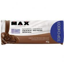Top Choco - 1 Unidade 40g Chocolate - Max Titanium*** Data Venc. 23/04/2020