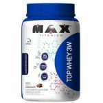 Top Whey 3W 900g Chocolate + Coqueteleira 600ml Preta - Max Titanium