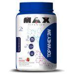 kit Top Whey 3W 900g Mor + BCAA 2400 100 caps + Creatina 150g - Max Titanium