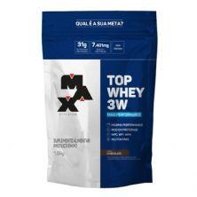 Top Whey 3W Mais Performance  - 1.800g Chocolate - Max Titanium