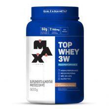 Top Whey 3W Mais Performance - 900g Vitamina de Frutas - Max Titanium