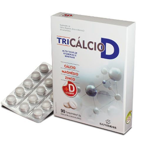 Tri Cálcio D - 90 Comprimidos - Terra Verde no Atacado