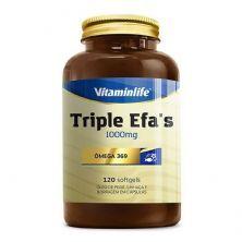 Triple EFAS Omega 3 6 9 - 1000mg 120 softgels - Vitaminlife