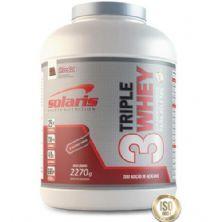 Triple Whey - Chocolate 2270g - Solaris Nutrition