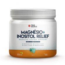 True Magnésio + Inositol Relief – 300g Limão – True Source