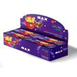 Uau Protein Bar - 12 Unidades 45g Amendoim Cremoso Coberto com Chocolate - Max Titanium