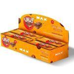 Uau Protein Bar - 12 Unidades 45g Chocolate Crocante - Max Titanium