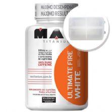 Ultimate Fire White - 60 cápsulas + Porta Cápsulas transparente - Max Titanium