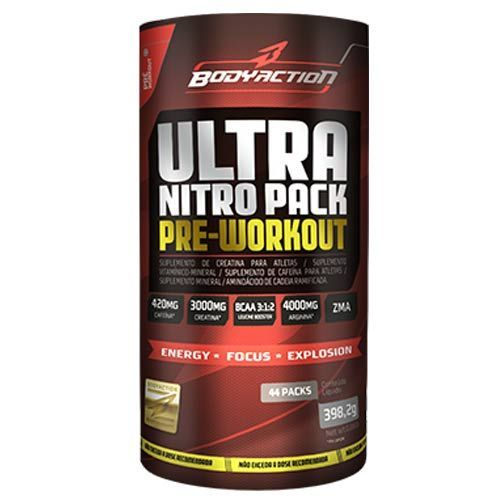 Ultra Nitro Pack - 44 packs - BodyAction